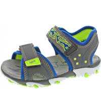 Superfit MIKE2 Kinderschuhe Sandale Grau Freizeit