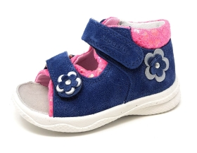 Superfit Polly Kinderschuhe Sandale Blau