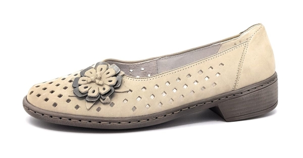 Jenny by Ara Da.-Slipper Damenschuhe Slipper Grau