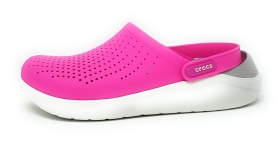 Crocs Lite Ride Clog Damenschuhe Outdoor Clogs Rosa