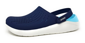 Crocs Lite Rideclog Damenschuhe Outdoor Clogs Blau