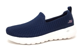 Skechers Go Walk Joy Damenschuhe Slipper Blau