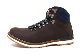 Tommy Hilfiger Outdoor Hiking Detail Schnürstiefel Braun