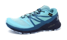 Salomon Sense Ride 2GTX Sportschuhe Walkingschuh Blau