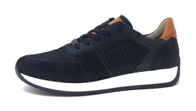 Ara  Herrenschuhe Sneaker low Blau