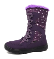 Superfit Crystal Kinderschuhe Winterstiefel Violett