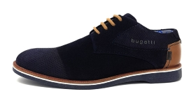 Bugatti City Melchiore Herrenschuhe Businessschuh Blau