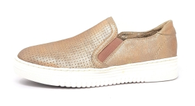 Jana  Damenschuhe Slipper Metallic