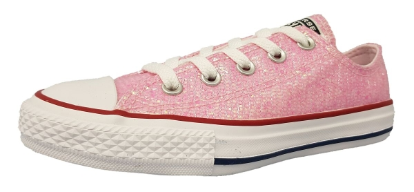 Converse All Star Ox Kinderschuhe Schnürer Rosa