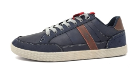 s.Oliver Men Lace-up Herrenschuhe Sneaker Blau