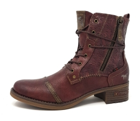 Mustang Stiefelette Rot
