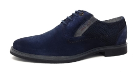 Bugatti City Vanity EVO Herrenschuhe Businessschuh Blau
