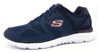 Skechers Satisfaction Herrenschuhe Sneaker Sneaker Blau Sport