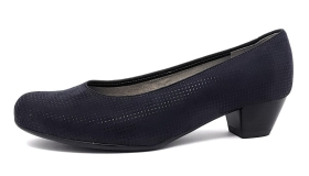 Jenny by Ara Catania Damenschuhe Pumps Blau Abend